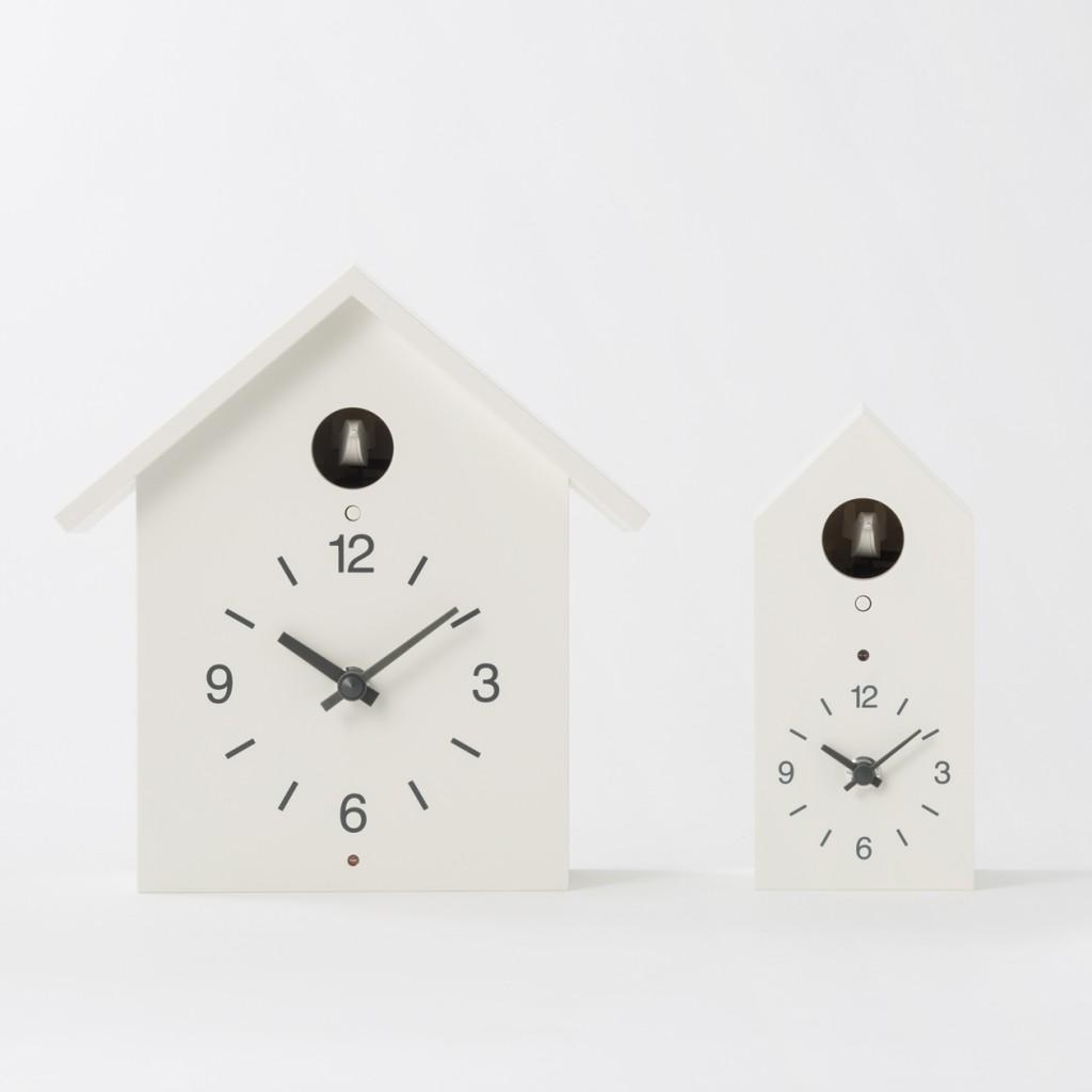 無印良品鳩時計大小