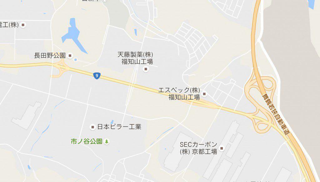 福知山市の道路