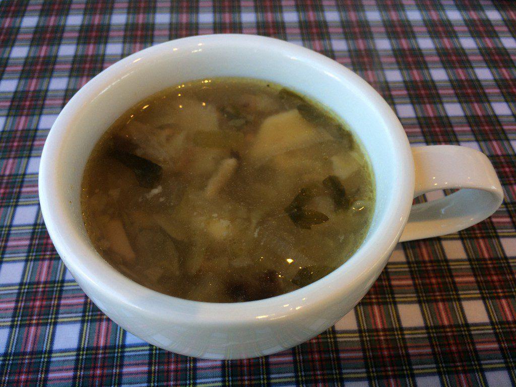 青いナポリのスープ