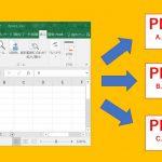ExcelからPDF