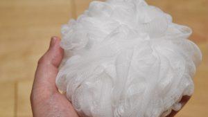 無印良品の泡立てボール!体を洗うときは泡で洗うのがオススメです